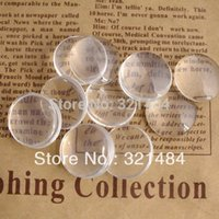 Wholesale mm piece Flatback Glass Dome Cabochons For Ring Earring Braclet Pendant Blank Jewelry DIY