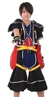 Wholesale Kingdom Hearts Cosplay Costume Sora Outfit Original Color Set XL