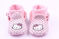 baby walkers australia - 2015 Hot Sale Cartoon Hello Kitty Baby Shoes First Walkers Lovely Dots Newborn Shoes Boots boots shoes australia