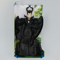 Wholesale New Anime Dark Beauty Maleficent Doll Classic Girls Brinquedos Collection Doll Toy Action Figures Toys inch