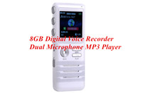 best voice activated recorder - Digital Voice Activated Recorder by Dictopro Double Microphone HD Recording Metal Case Best Noise Cancellation Mic GB Dictaphone