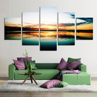 abstract image - Fashion piece large canvas art cheap painting modern abstract HD image oil painting seascape wall decor for living room hotel No Frame