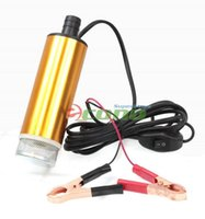 acura fuel pump - 8GPM Mini Refueling Sub V Submersible Diesel Fuel Water Oil Transfer Drum Pump Easy Electric clip connecting system