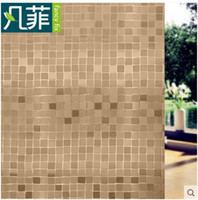 Wholesale Without glue electrostatic sticker paper sticker is prevented bask in a paper cut Windows window glass Mosaic insulation decorative