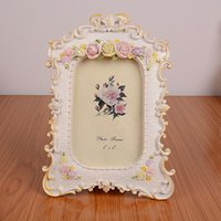 Wholesale European Natural Resin Frame g Home Stereo Small Room Decoration Parental Child Photo Frame mm