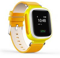 apple alarm clocks - Fashion Q60 Kid Smart Watch Bluetooth Wristwatch phone GPS SOS Call Locator Tracker Anti Lost Monitor Alarm Clock pedometer Sleeping Tracker