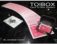 Wholesale 2016 Toibox Card To Box System by Jonathan Kamm magic