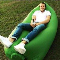 2016 hot Lamzac Sair rápido inflável Lounger Air sono Camping Sofá KAISR Praia tecido de nylon saco de dormir Bed preguiçoso Cadeira ourdoor 260x70c