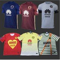 Wholesale COPA Mexcio Club America Soccer Jerseys T Shirts home Yellow Red Blue MICKY M LAYUN O PERALTA SAMBUEZA football Shirt