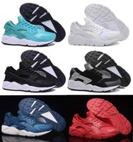 Wholesale Classic Black White air Huarache Men Women Running Shoes Red Sneaker Breathable Huaraches Size US5