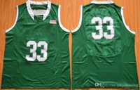 Wholesale Free Fast Shipping Mens sport Jerseys University College Basketball Shirt Green Color For Men Size S XXXL