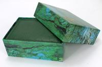 big box shopping - The green box big shop watch box jewelry box custom moon cake gift box long flat