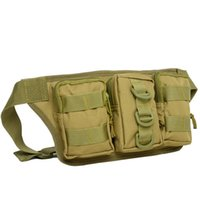 backpack hip belt - Military Fanny Pack Tactical Waist Bag Pack Waterproof Hip Belt Bag Pouch for Hiking Climbing Outdoor Bumbag