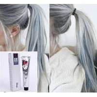 Wholesale 100ML Goon Hair Color Cream Light Grey Color Permanent Super Hair Dye Non toxic Personalized Gray Color for DIY Hair Style Cream