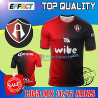atlas homes - New Arrived Merixo Liga MX Club Deportivo Atlas Home Soccer jersey Maillot De Foot ATLETICA MAILLOTE TRIKOT CAMISA shirt