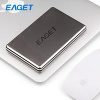 Wholesale Original Eaget G50 TB G Full Stainless Steel Shockproof Enclosure USB High Speed HDD Desktop Laptop Mobile Hard Disk