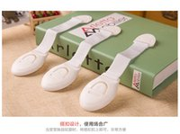 Wholesale New arrival Cabinet Door Drawers Refrigerator Toilet Lengthened Bendy Safety Plastic Locks For Child Kid Baby Safety