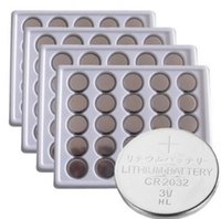 Wholesale 100Pcs PKCELL V CR2032 Lithium Battery BR2032 DL2032 ECR2032 CR Button Coin Cell Batteries