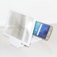 smart phone Universal  Fashion Mobile Phone Screen Magnifier 3D Display Video Screen Amplifier Enlarged Expander Stand Holder For iPhone 6 6S Plus Samsung S5 S6 S7