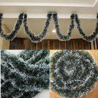 artificial bamboo trees - Party Decoration Xmas Tree Ornament Decoration Party Holiday Christmas Dark Green Ribbon Decor Madder Garland Ribbon Artificial Flowers