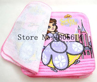 Wholesale 24Pcs Princess Sofia for Kids Birthday Party Decoration Cartoon Printing Handkerchiefs Baby Decoration Supply