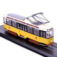 b train truck - Atlas Tram Model Serie Allan Beijnes Werkspoor Diecast Train Truck Car Model Collection brinquedos Kids Toys B