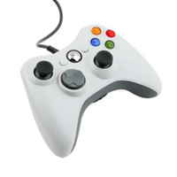 Wholesale USB Wired Joypad Gamepad white Controller For Microsoft for Xbox Slim for PC for Windows Hot Worldwide
