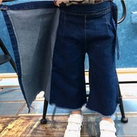 baggy jeans kids - Girls Blue Jeans Child Clothes Kids Clothing Autumn Baggy Jeans Korean Girl Dress Casual Trousers Children Jeans Kids Pants Ciao C26854