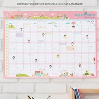 agenda planners - 2016 Wall Yearly Planner Calendar Days Schedule Timetable for Study Work Office Home Hanging Sticker Agenda