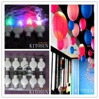 balloon centerpiece supplies - LED Mini Party Lights for Lanterns Balloons Floral Mini Led Lights For Wedding Centerpiece KIT Eiffel Glass Vases