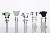 Wholesale Bowl With Honey Comb Screen With Female Or Male Joint mm mm mm Connection Clear Black White Pink Green