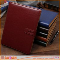 Wholesale Classic Portable Notebook Hardcover Business Stationery PU leather journal Notepad Diary Planner School Supplies