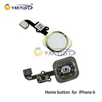 Wholesale High Quality Home Button Flex Ribbon Cable Touch ID Sensor Replacement Part For iPhone plus inch Complete