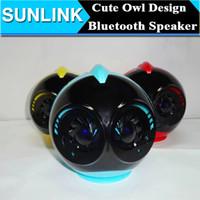 audio bird sounds - Super Cute Cartoon Q616 Owl Bird Bluetooth Speaker Portable Wireless Mini Audio Player Handsfree MIC Hifi Stereo Loudspeaker supports FM TF