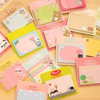 Wholesale Kawaii Cute Stationery Rilakkuma Paper Memo Pads Notebook papelaria Planner Stickers filofax papel notepad sticky notes BLT