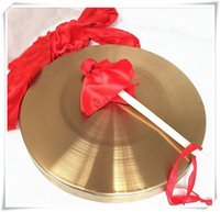 Wholesale 2016 cm low pitch gong with hammer sisals gonfalons Chinese traditional Musical instrumen