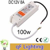 CE   LED Power Supply 12V 100W LED Driver Power Adapter Switching 90-240V to DC 12V Lighting Transformers for led strip