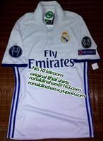 Wholesale slim fit UCL kit real madrid home jersey player version ronaldo bale isco morata ramos