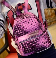 Wholesale 2015 new Korean tide dream PU backpack backpack backpack casual handbag small wind