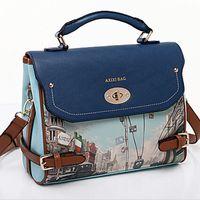 authentic designer handbags - 2016 new bags channel bolsa authentic vintage brand designer retro printing Mobile Messenger handbags women handbag
