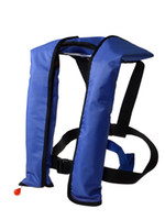 Wholesale Automatic Manual Life Jacket Vest Auto Inflatable Survival Personal Floatation