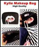 Wholesale 15 Kylie Jenner Make Up Bag Birthday Collection Makeup Bag Kylie Lip Kit Bag High Quality