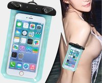 best waterproof cell phone - 2016 BEST Promotion Clear Waterproof Pouch Bag Dry Case Cover For Cell Phone iphone5 Samsung s3