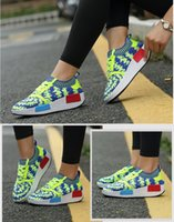 b web - Summer fly ring spinning a web designer shoes breathable sneaker energy of running shoes leisure shoes