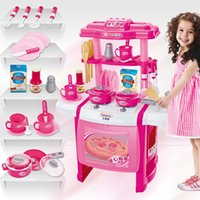 Wholesale Berns children s toy house Girl Dolls House kitchen cooking utensils and tableware
