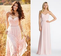 baby sizes chart - Baby Pink Beach Bridesmaid Dresses Cheap Long Ribbon Crystal Pleated Chiffon New Wedding Party Prom Formal Dress Gowns Custom Cheap
