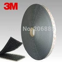 Wholesale M fastener with acrylic adhesive foam tape MSJ3550 quot yards Black color with type