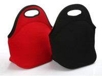 Wholesale Zipper Neoprene Lunch Bags Women Kids Food Bag Tote Cooler lunch boxes
