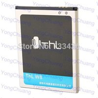 Batería de teléfono móvil del teléfono THL W8 batería 2000mAh 100% bateria Batería Original para THL W8, THL W8 Más allá, Teléfono Inteligente-THL En Stock W8S