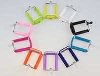 Wholesale general clip for Selfie Stick cellphone camera clip adapter CM regular mobile phone clip colourfull